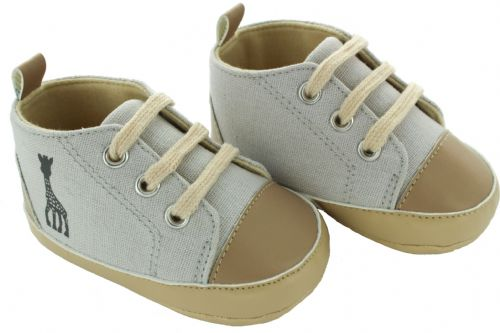Baby Love SLG Shoes, Beige/Gr Pump